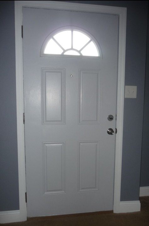 We Installed A Peep Hole In The Front Door Benjennandbabies